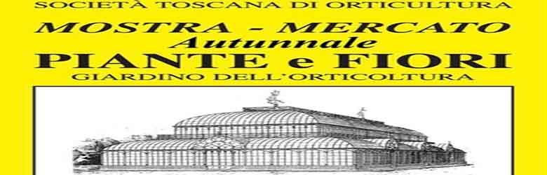 Mostra Mercato Autunnale Piante e Fiori 2020 a Firenze