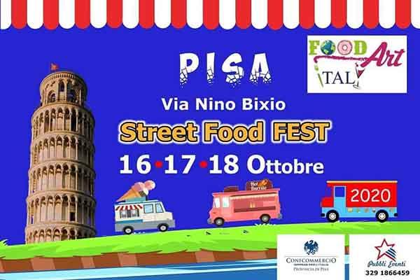 Street Food Fest a Pisa Ottobre 2020
