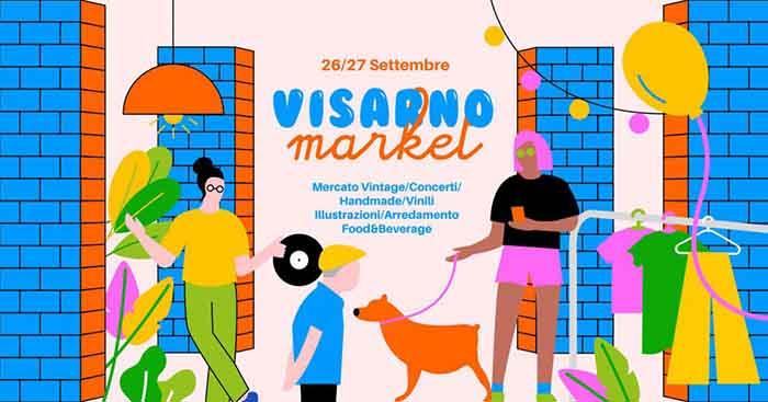 Visarno Market 2020 a Firenze - Parco delle Cascine