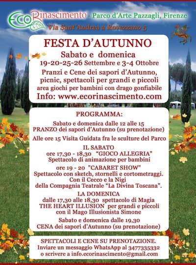 Festa Autunno Parco Pazzagli