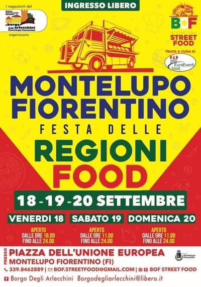 Festa delle Regioni Montelupo Fiorentino 2020