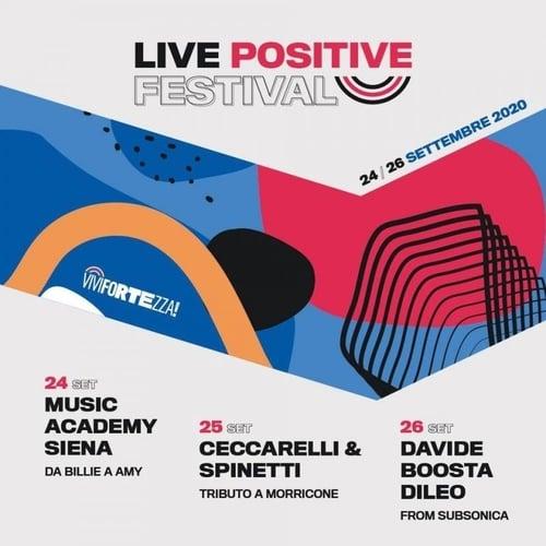 Live Positive Festival Siena 2020