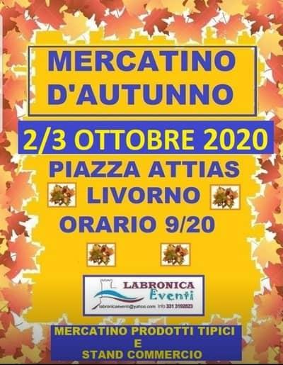 Mercatino Piazza Attias Livorno