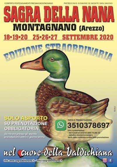 Sagra della Nana 2020 Montagnano