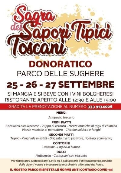 Sagra Sapori Tipici Toscani 2020