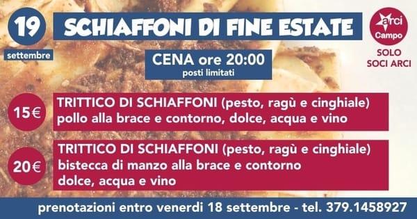Sagra Schiaffoni Campo Settembre