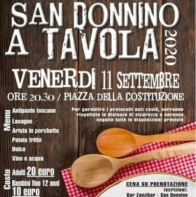 San Donnino a Tavola 2020
