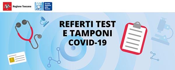 Prenotazione Online Tampone COVID Regione Toscana