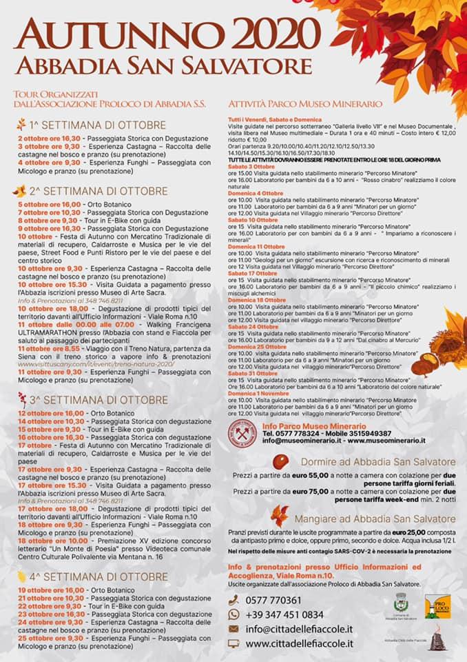 Festa Autunno Abbadia San Salvatore 2020