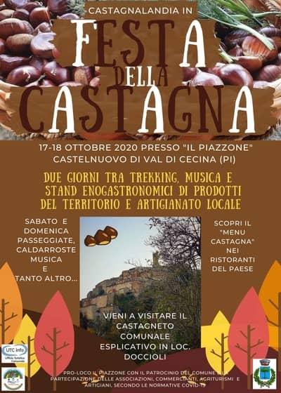 Festa Castagna Val di Cecina 2020