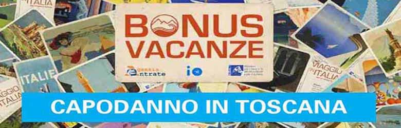 Bonus Vacanze Capodanno in Toscana - Dove Usarlo