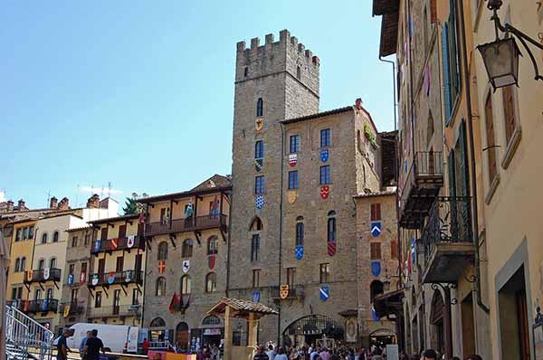 Comuni in Provincia di Arezzo