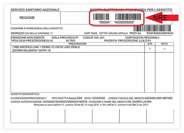 NRE - Ricetta Elettronica Regione Toscana