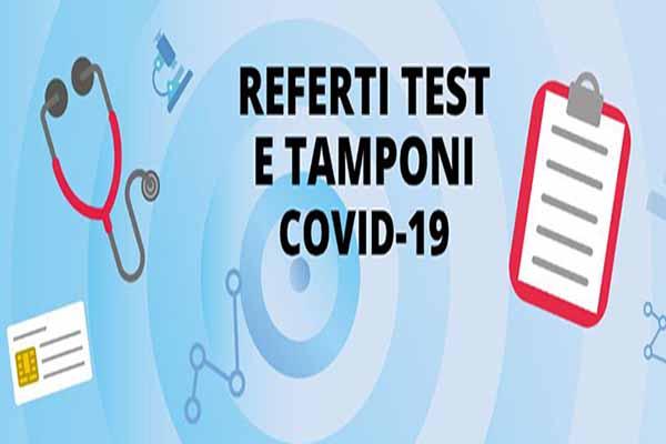 Risultati Online dei referti Tamponi Covid della Regione Toscana