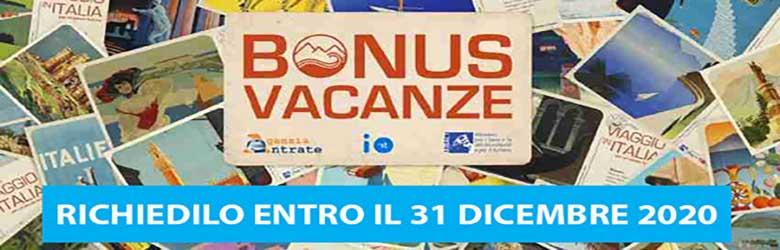 Bonus Vacanze Richiedilo Entro 31 Dicembre 2020 - Toscana