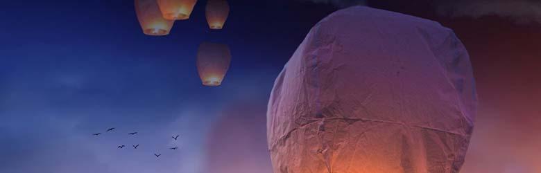 Capodanno ad Arezzo 2021 - Lancio Lanterne