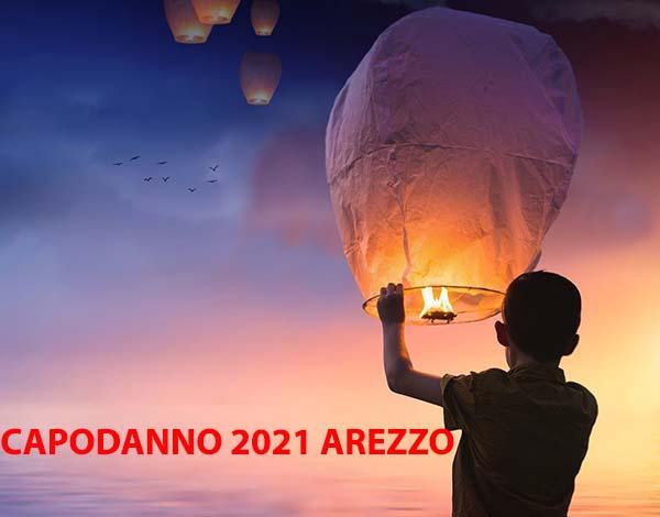 Capodanno ad Arezzo 2021 - Lancio delle Lanterne