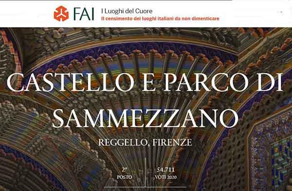Castello e Parco di Sammezzano - 2° Classificato FAI Luoghi del Cuore
