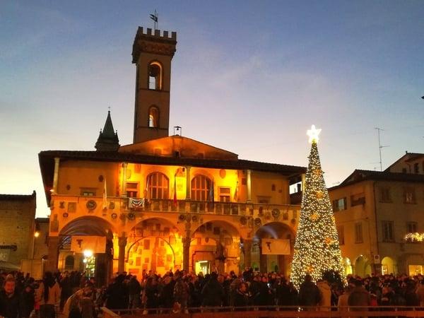 Accensione albero San Giovanni Valdarno