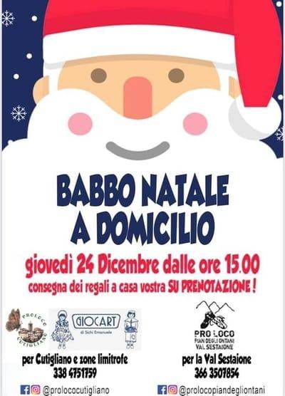 Babbo Natale Cutigliano