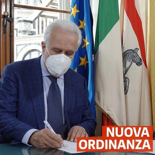 Ordinanza Regione Toscana Sabato 5 Dicembre
