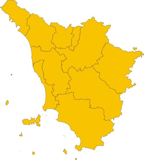 Toscana Zona Arancione 6 dicembre