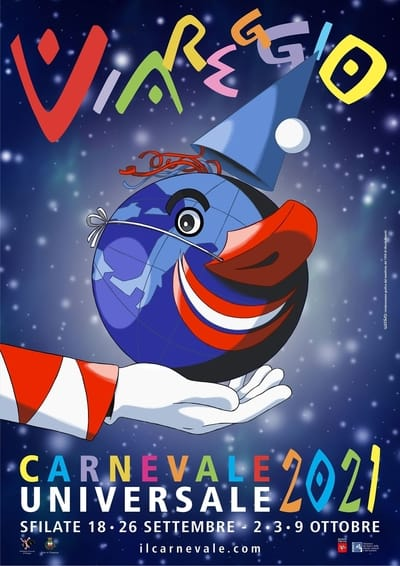 Manifesto Carnevale di Viareggio 2021