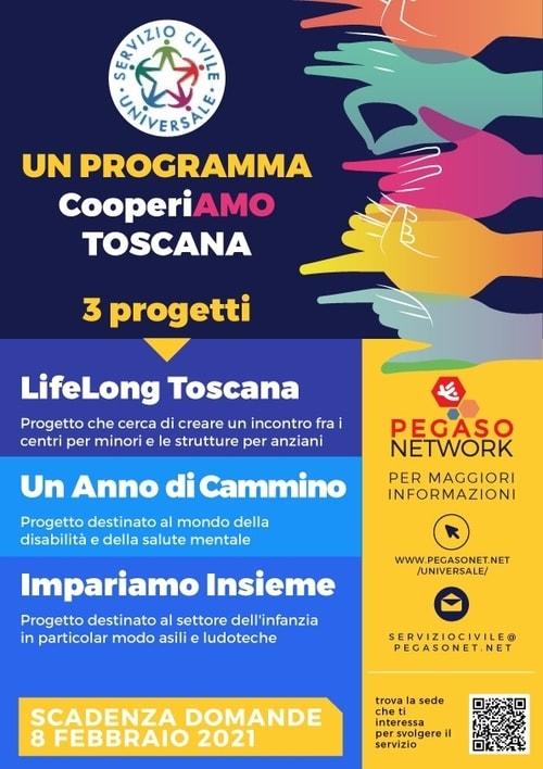 Servizio Civile Universale Toscana 2021