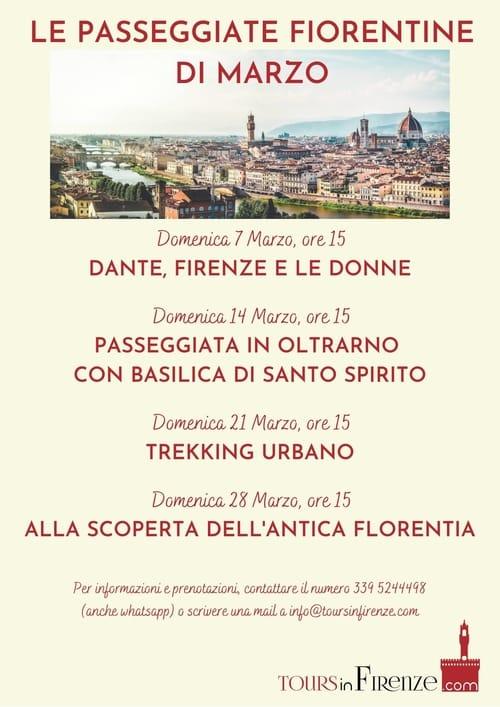 Visite Guidate Firenze Marzo 2021