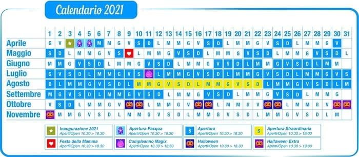 Calendario Aperture Cavallino Matto 2021