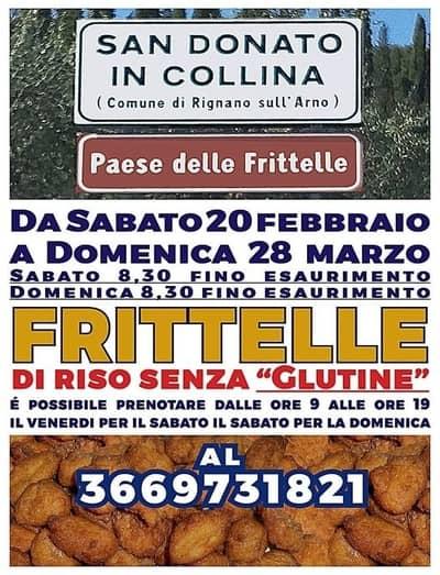 Frittelle San Donato in Collina 2021