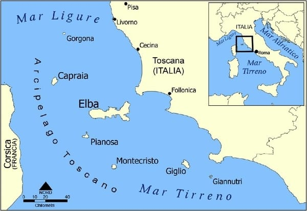 Isole Arcipelago Toscano