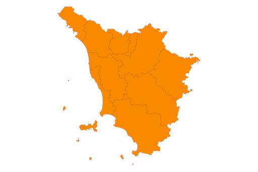 Toscana ancora Arancione