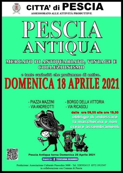 Pescia Antiqua Aprile 2021