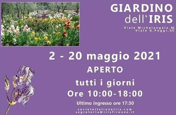 Riapertura Giardino Iris Firenze