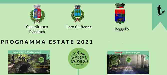 Trekking in Pratomagno Estate 2021