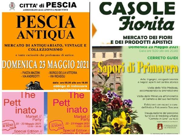 Eventi Toscana Weekend 21 22 23 Maggio