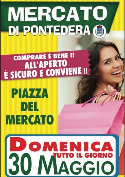 Mercato Pontedera 30 Maggio