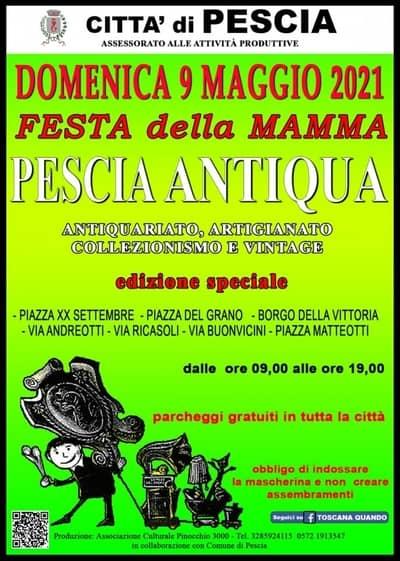 Pescia Antiqua 9 Maggio 2021