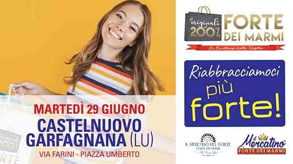Mercato da Forte dei Marmi a Castelnuovo di Garfagnana - Martedì 29 Giugno 2021