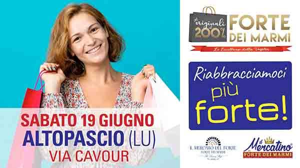Mercato del Forte a Altopascio Lucca - 19 Giugno 2021