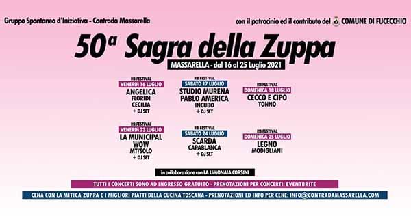 Sagra della Zuppa 2021 a Massarella Fucecchio - dal 16 al 25 Luglio