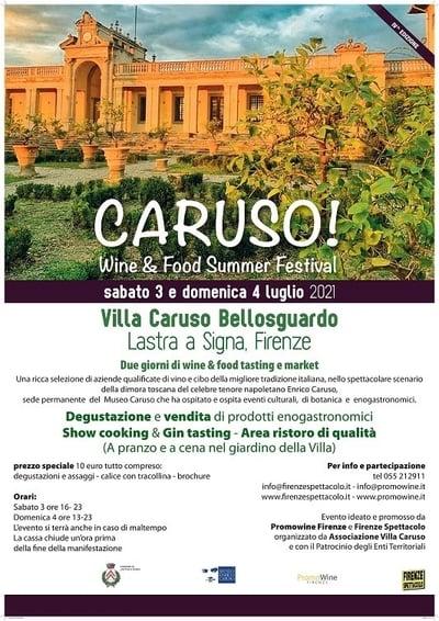 Caruso Wine Food Festival 2021
