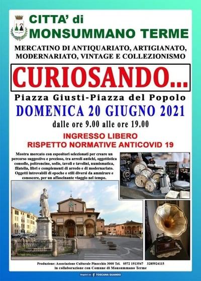 Curiosando Monsummano Terme Giugno 2021