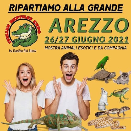 Esotika Pet Show Arezzo 2021