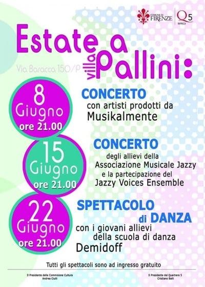 Estate Villa Pallini Firenze 2021