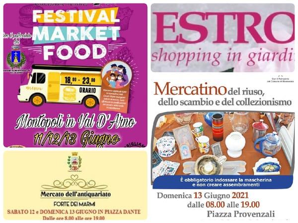 Eventi Toscana Weekend 11 12 13 giugno