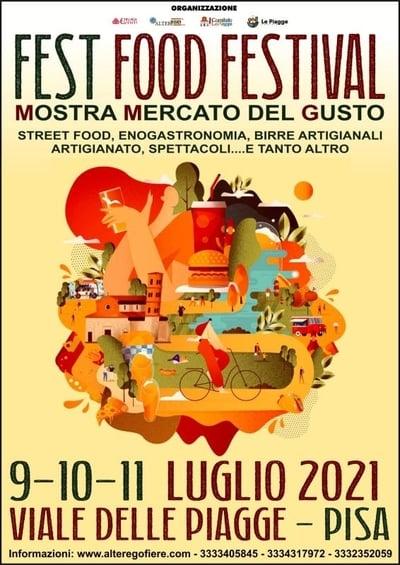 Fest Food Festival Pisa