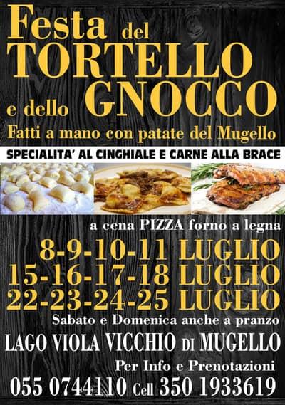 Festa Tortello Gnocco Lago Viola