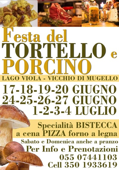 Festa Tortello Porcino Vicchio 2021